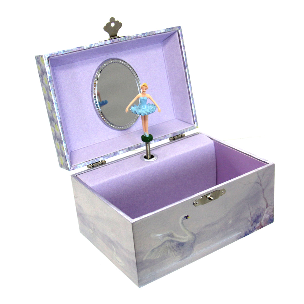 """Swan Lake"" Jewelry Music Box"