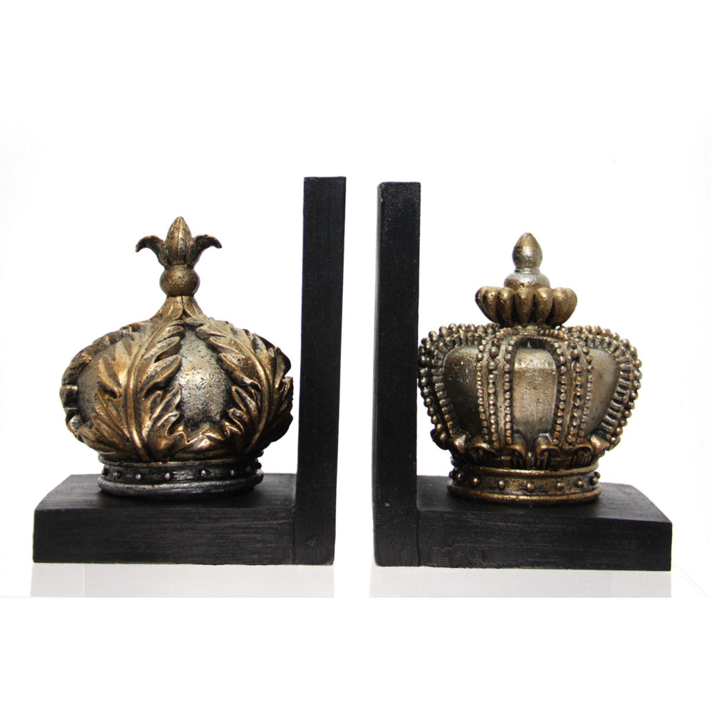 Crown Book Ends
