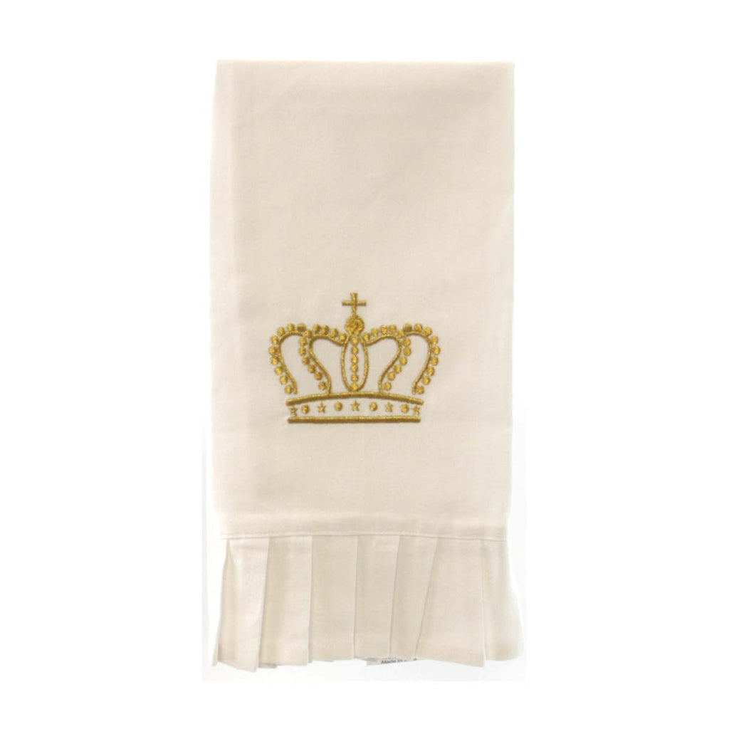 Crown Ruffle Hand Towel