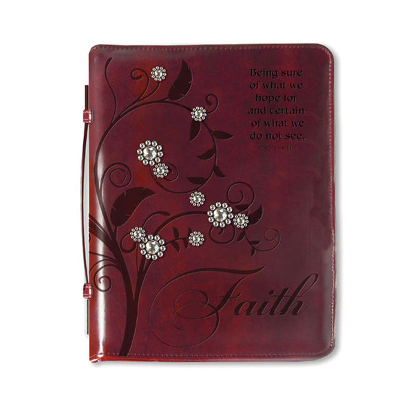 Bible Cover-Tree of Faith Medium