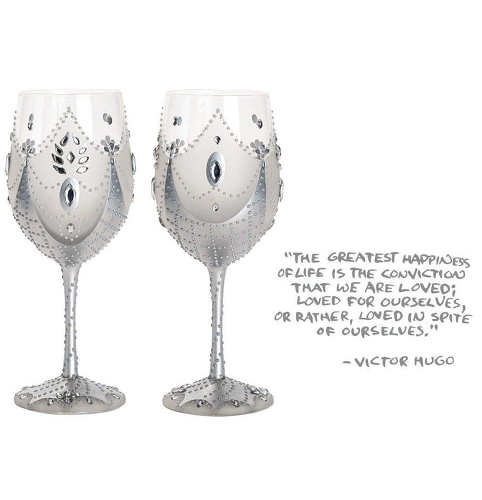 Soiree White Wine Glasses / Set of 2