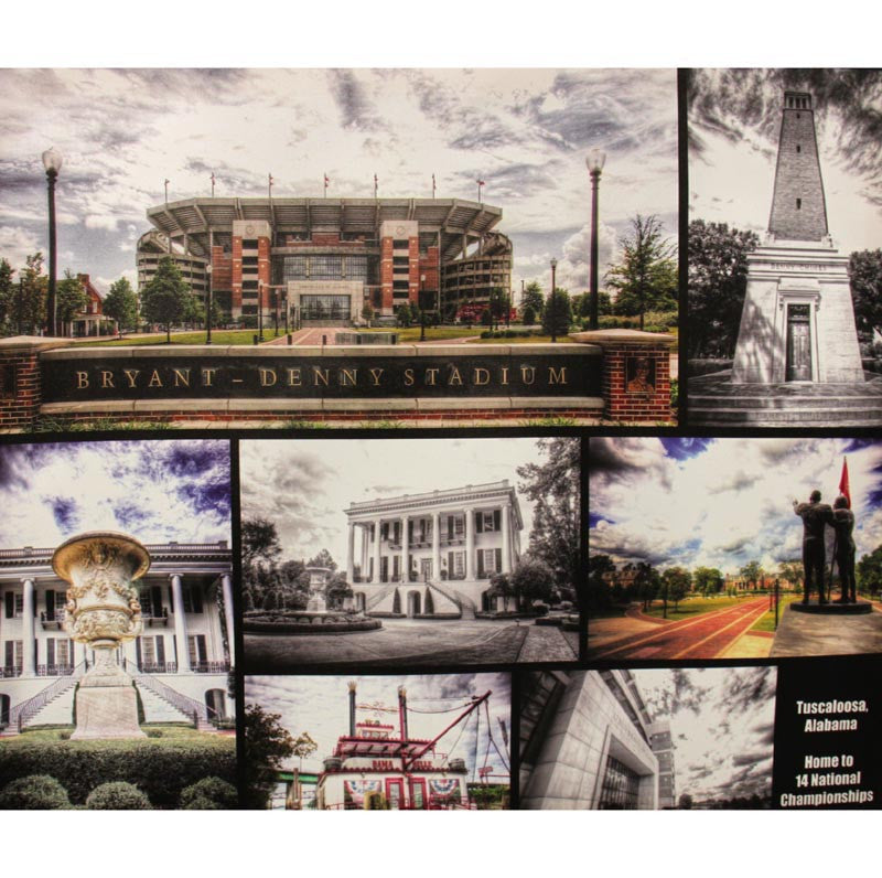 Canvas Print Tuscaloosa College