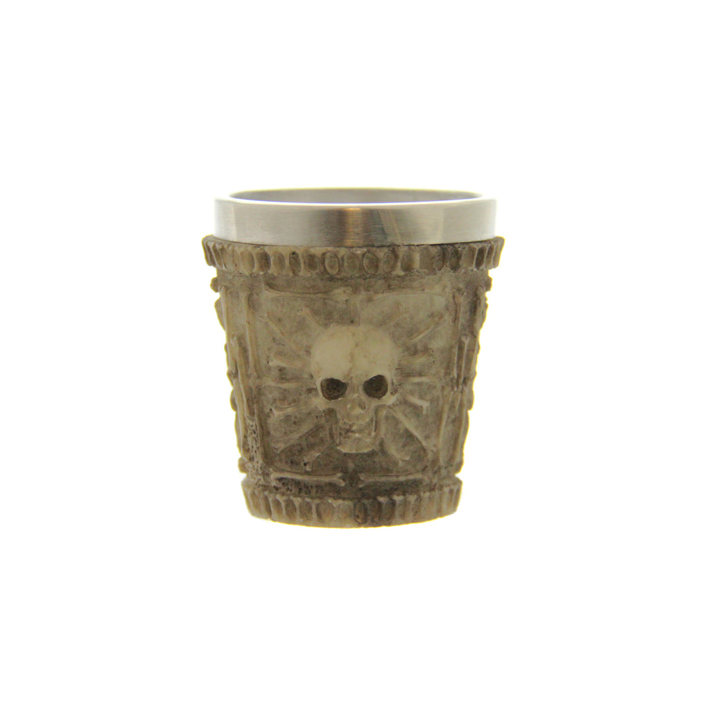 Skull & Bone design Shot Glass