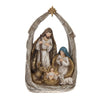 Holy Family In Manger