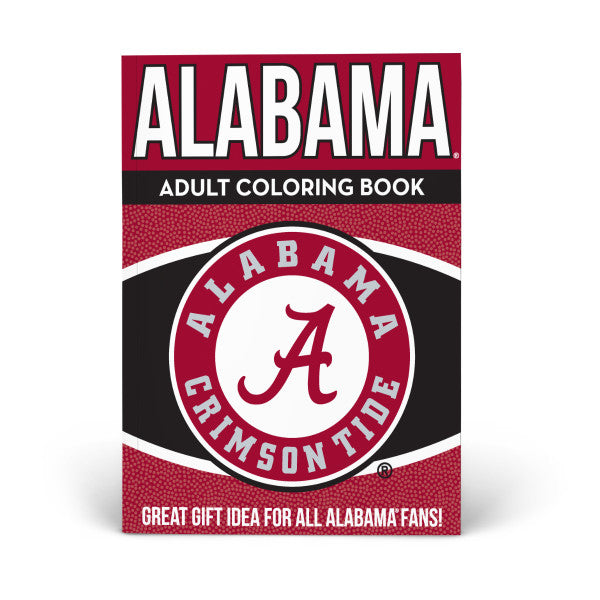 Alabama Adult Coloring Book