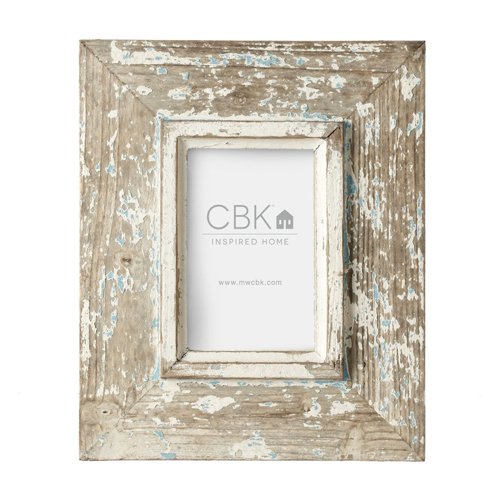 Distressed Wood 4x6 Frame