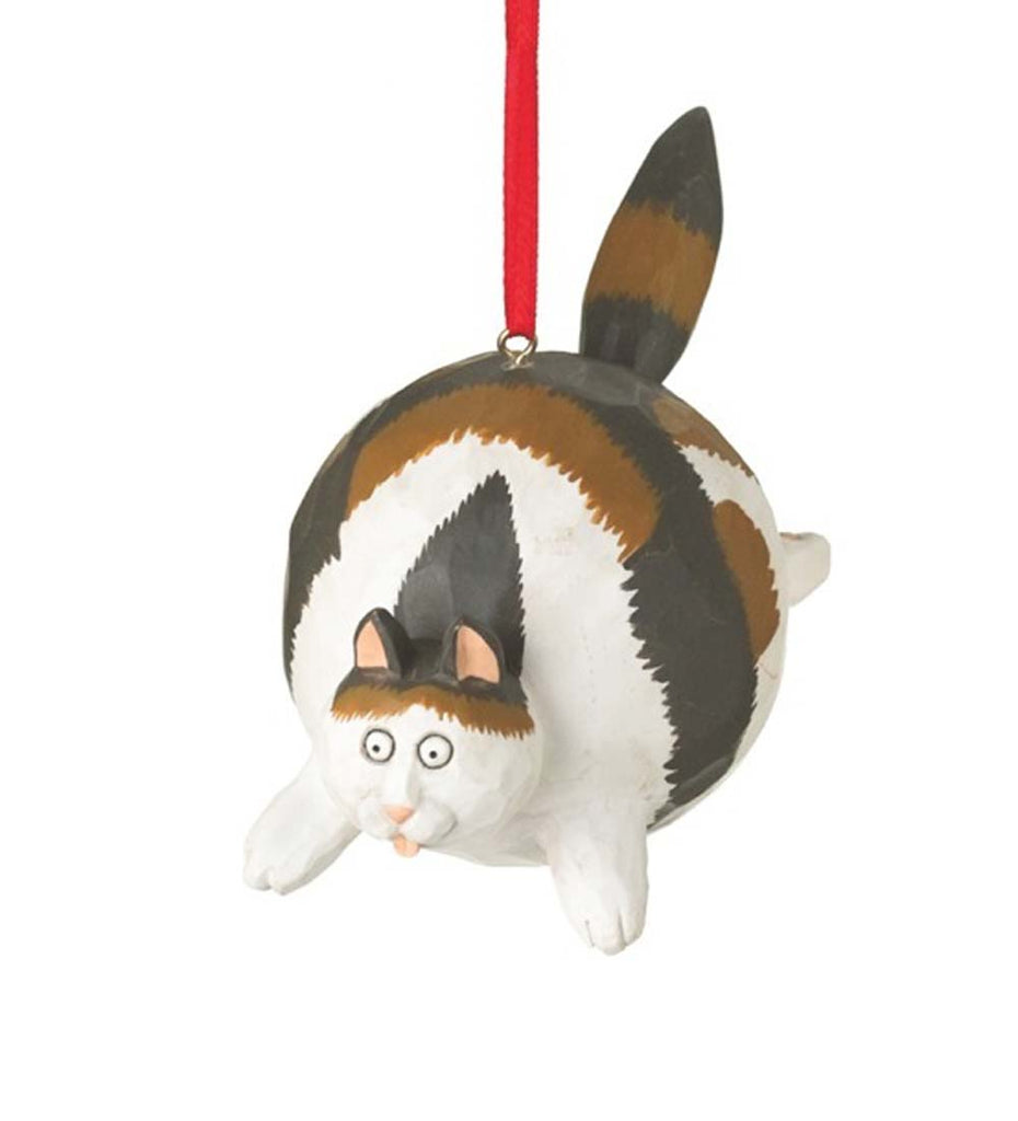 Fat Cat Ornament-Calico