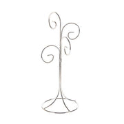 4 Prong Ornament Stand - Silver