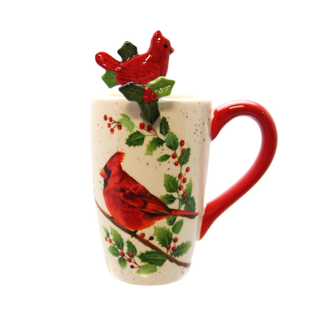 Christmas Cardinal Coffee Mug-Peace at Christmas