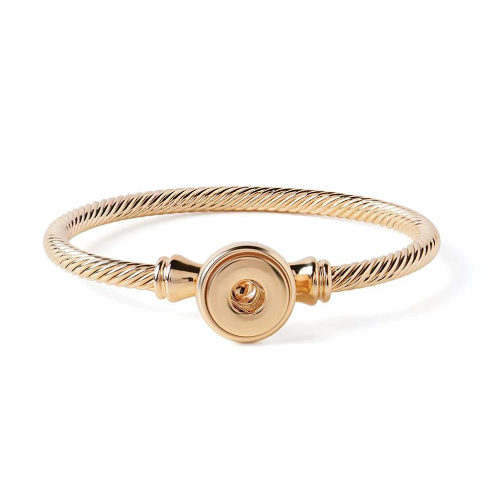 Petite Ginger Snaps Bracelet Rope Latch Gold