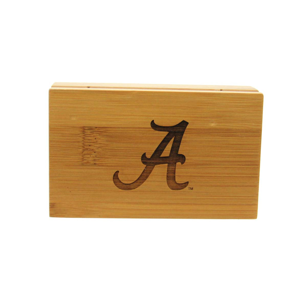 Alabama Corkscrew and Bottle Stopper Bamboo Boxed Set.