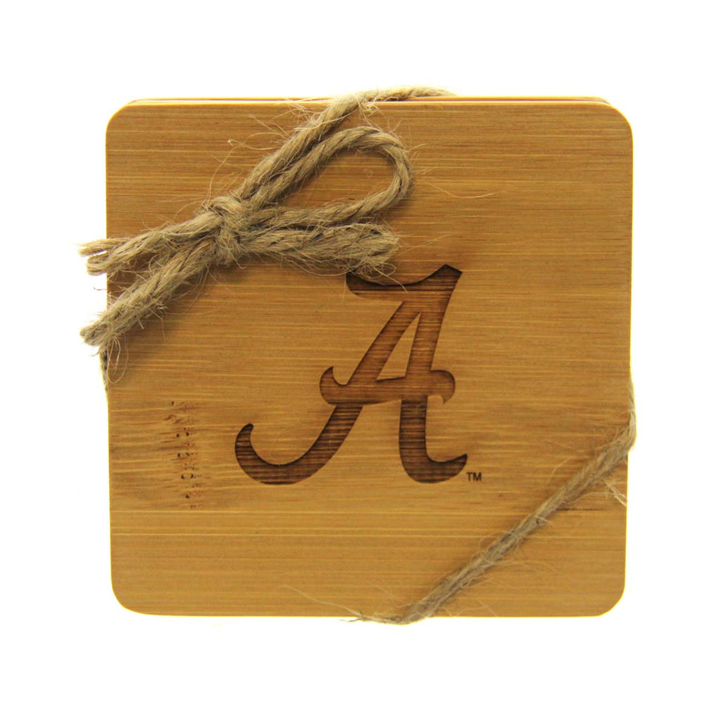 Alabama Bamboo Coasters