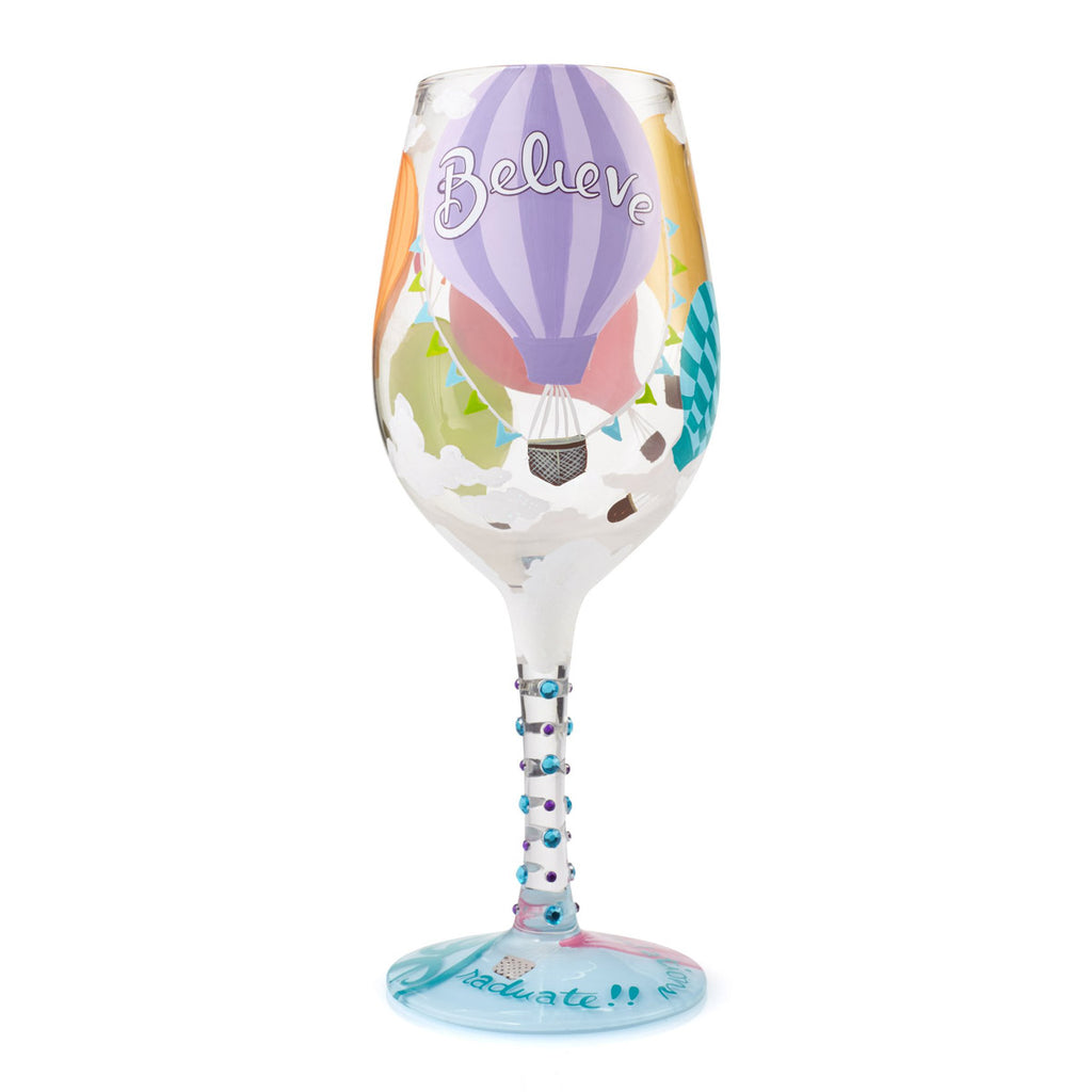 Lolita Graduate Wine Glass - Reach for the Sky