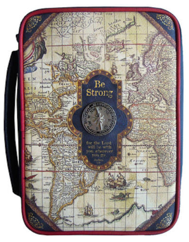 Bible Cover Nautical Large