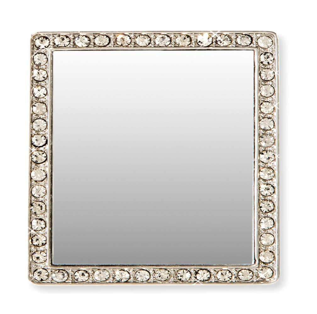 Tech Mirror in Silver Square