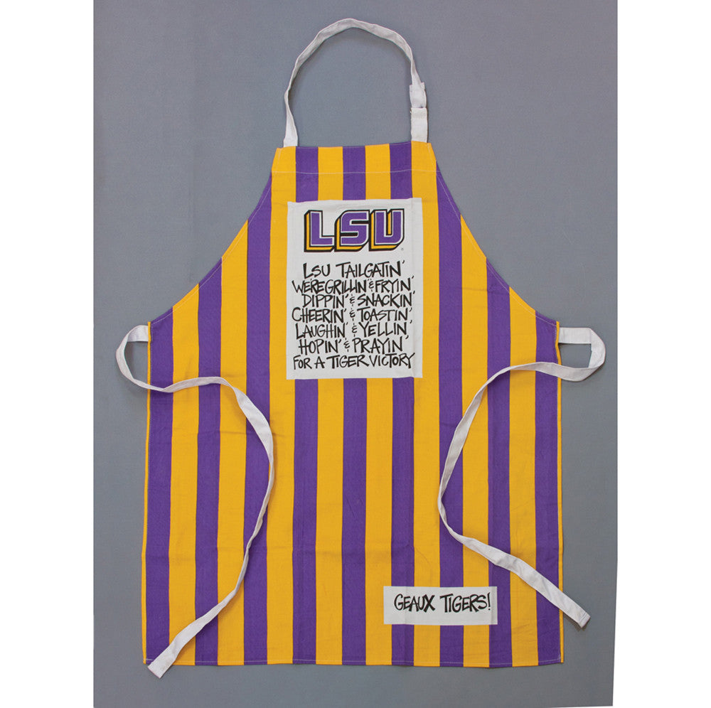 Apron Gameday Gourmet LSU