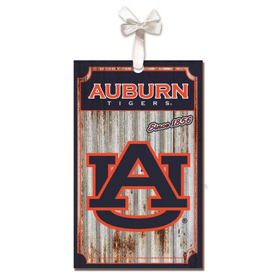Auburn University, Metal Corrugated Ornament