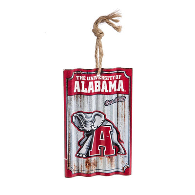 University of Alabama, Metal Corrugated Ornament