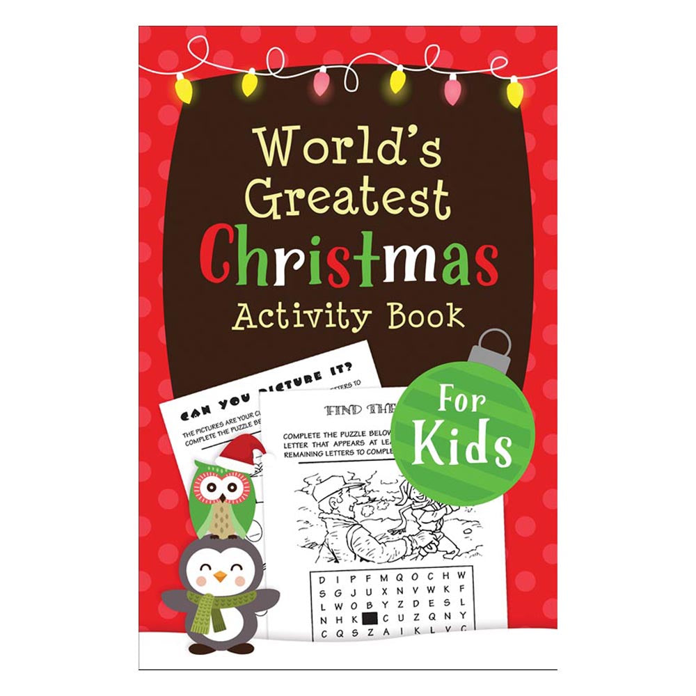 World's Greatest Christmas Activity Book for Kids, The