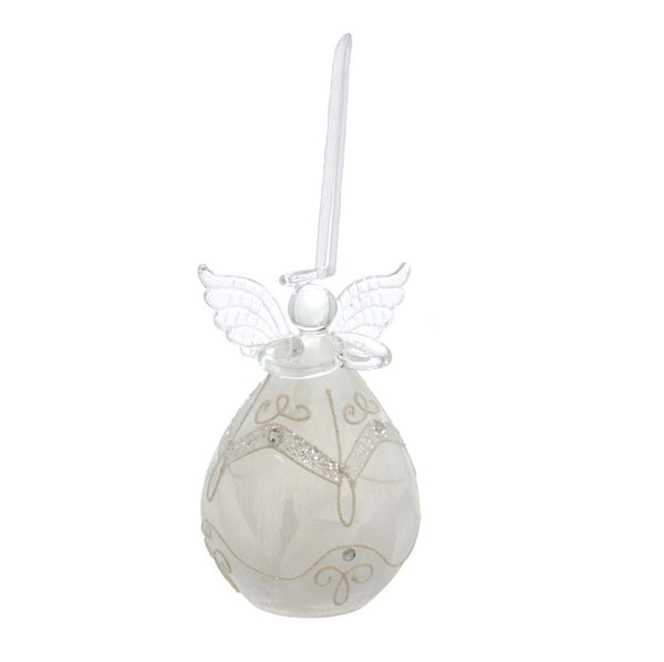 LED Glass Angel Ornament style 2