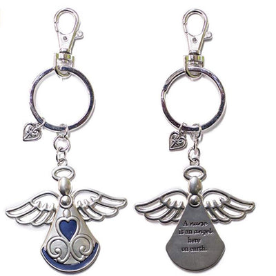 Angel of Nursing Key Chain w/ Clip