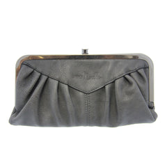 Simply Noelle Bustle Wallet-Steel