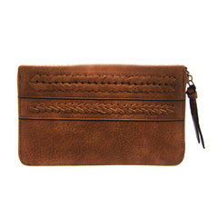 "Simply Noelle ""Fishtail"" Wallet Wristlet-Cider"