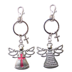 Angel Key Chain w/ Clip