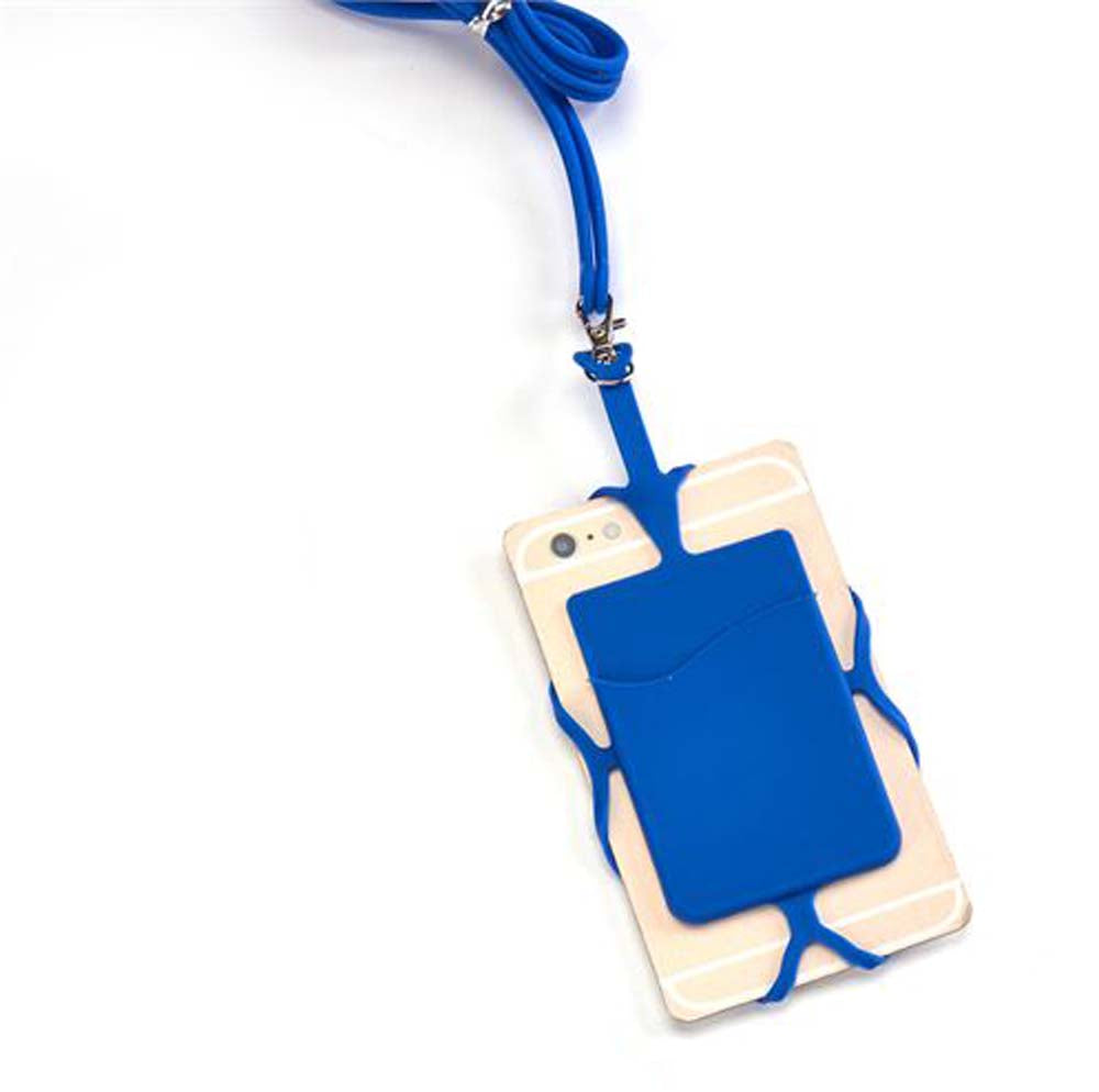 Phone Lanyard - Blue