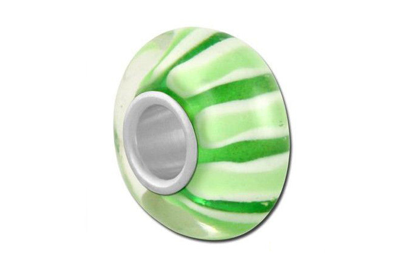Green Dream Glass Bead - Green