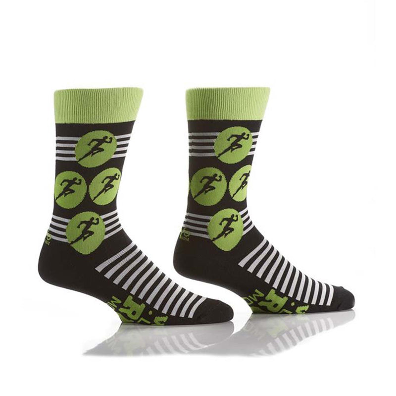 Yo Sox Men's Sprint Runner Socks