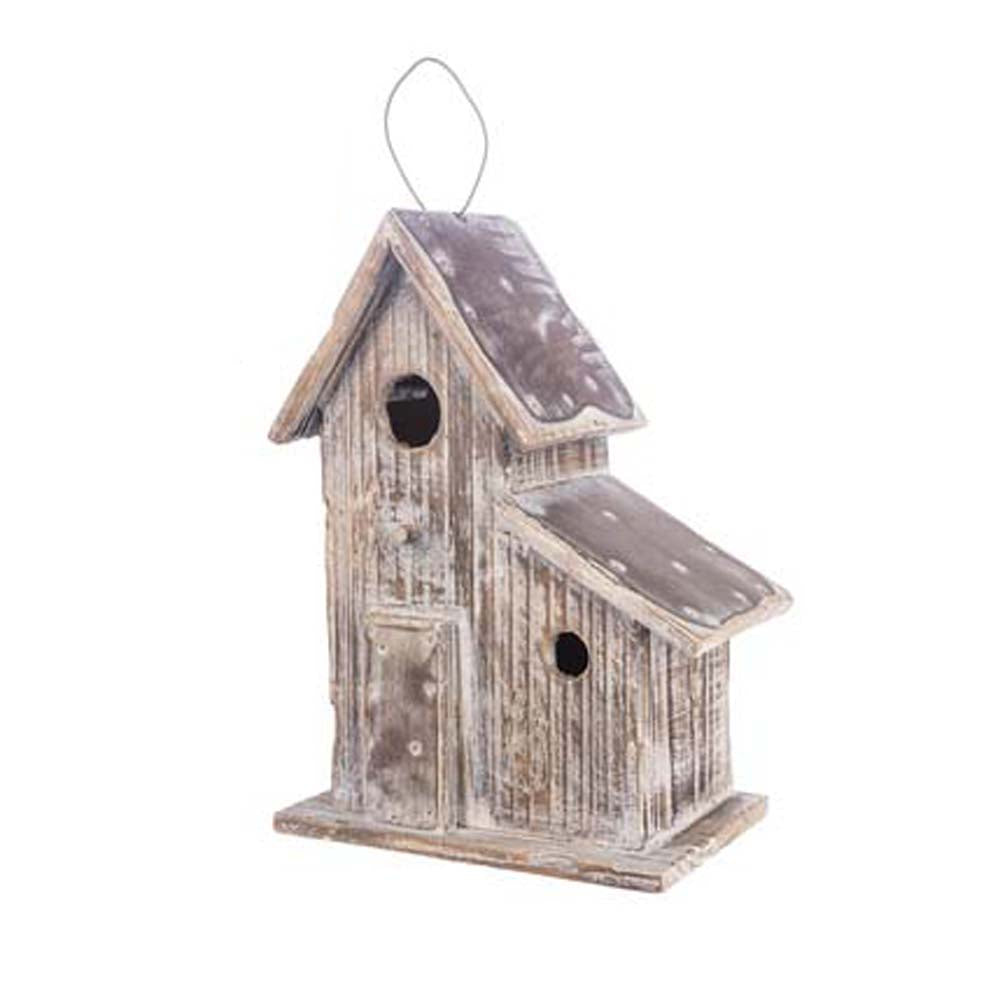 Rustic Birdhouse large style 1