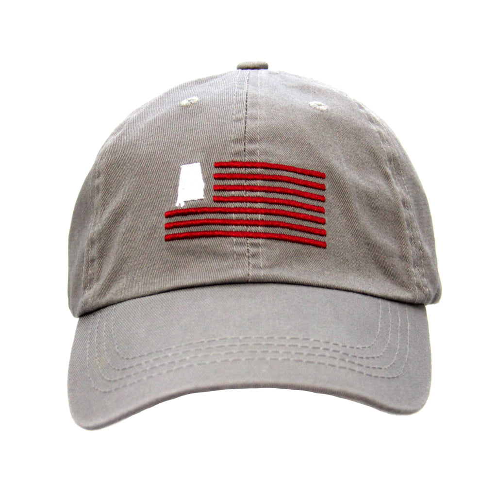 State of Alabama Flag Design Cap
