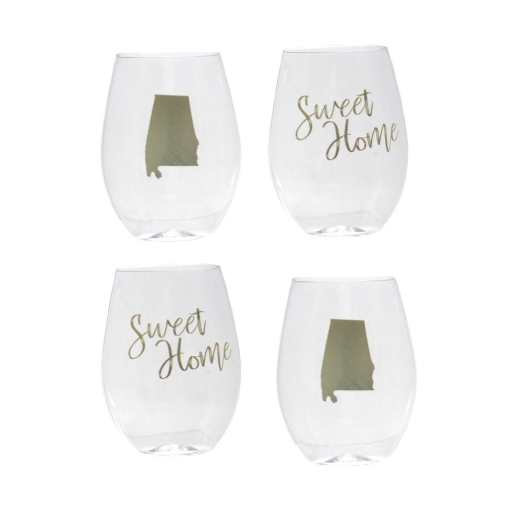 Alabama Stemless To Go Glasses