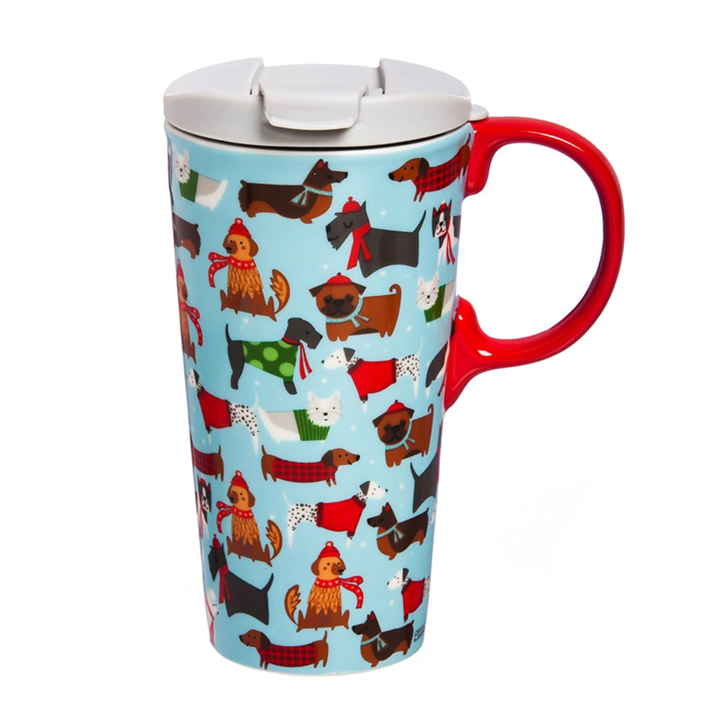 Ceramic Perfect Cup Festive Fido's