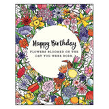 Birthday Card: Wishing you bunches of love and happiness