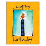 Birthday Card: Bright wishes for the best year ever!