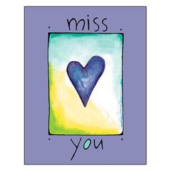 Miss You Card: miss you