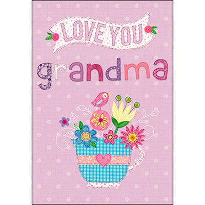 Birthday Card - Grandma: Because you're the best!