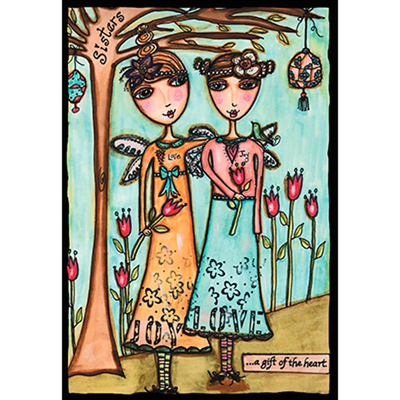 Birthday Card - Sister: Happy Birthday to a Wonderful Sister