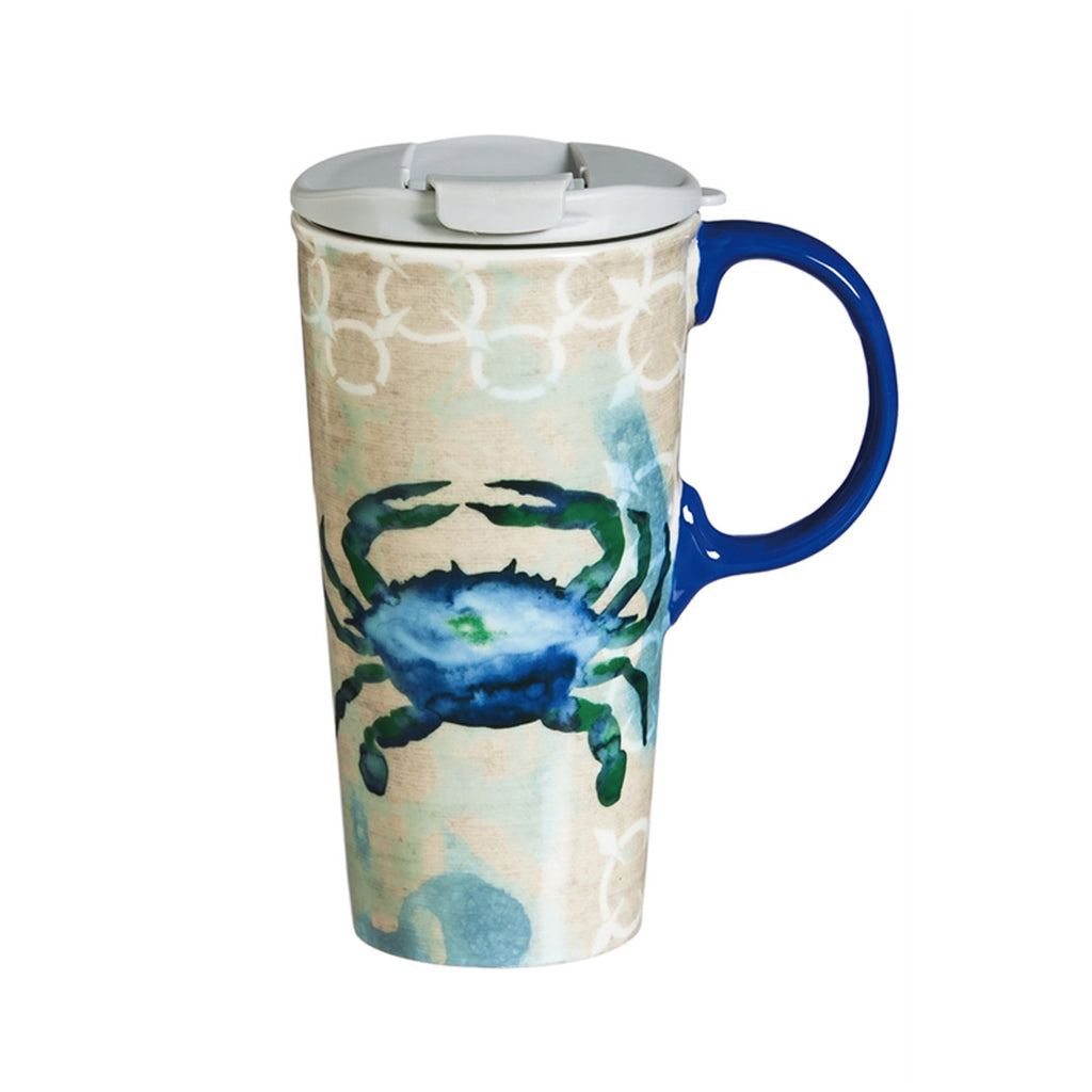 By the Sea, Ceramic Perfect Cup, 17 oz.