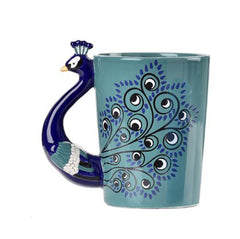 Peacock Coffee Mug - Green