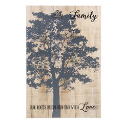 Tree of Life Photo Holder Plaque