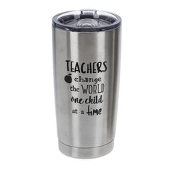 Teacher heart of gold Stainless Steel Tumbler - One Child