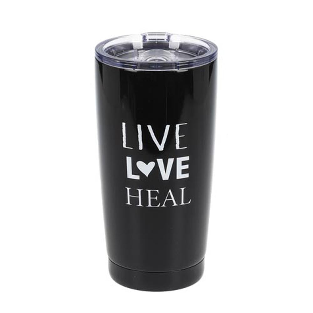 Nurse Coffee Tumbler - Live Love Heal