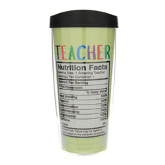 Insulated Tumbler Teacher Facts
