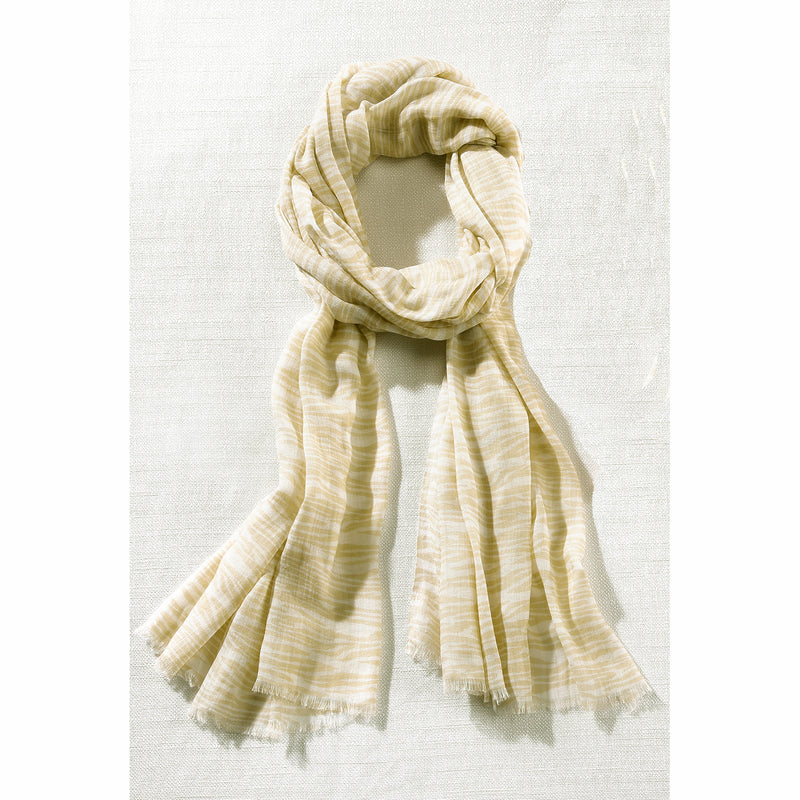 Charlie Paige Woven Scarf Beige