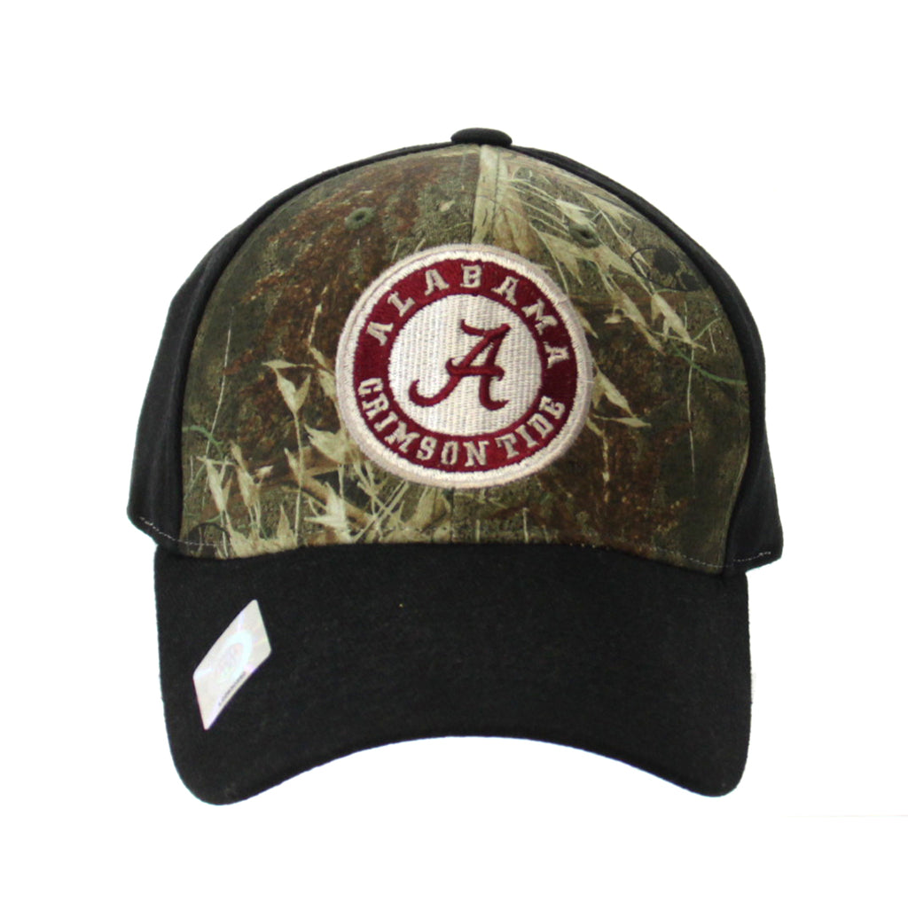 Alabama Cap, Mossy Oak Camo Black