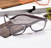 '+2.50 Spring Hinge Glasses with Case-Grey