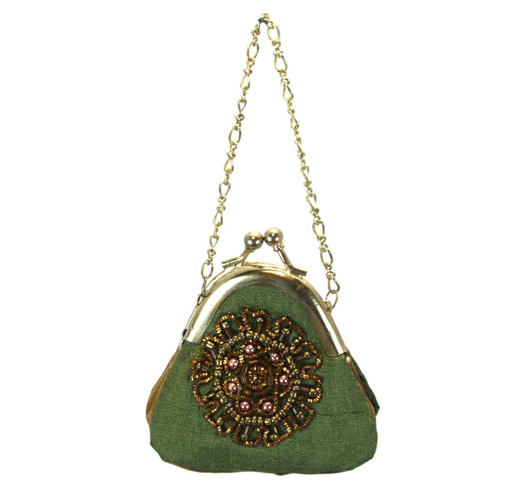 Purse Ornament Green